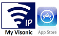 Install My Visonic App for Apple Phones