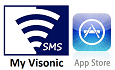 Install My Visonic SMS App for Apple Phones